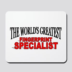 """The World's Greatest Fingerprint Specialist"" Mous"