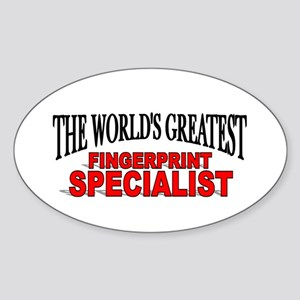 """The World's Greatest Fingerprint Specialist"" Stic"