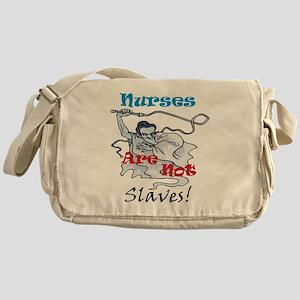 Slaves2 Nurses10x10 Messenger Bag