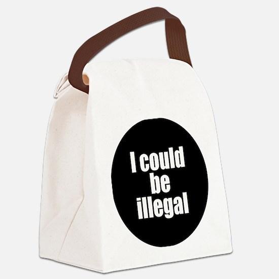 icouldbeillegal Canvas Lunch Bag
