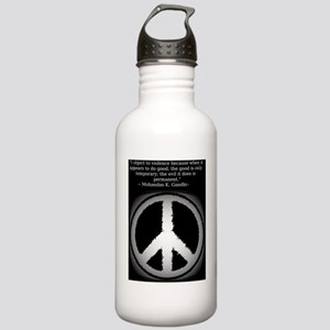 peace_symbol Stainless Water Bottle 1.0L