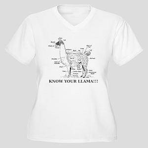 925746_10477594_l Women's Plus Size V-Neck T-Shirt