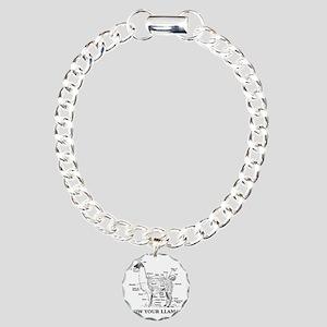 925746_10477594_llama_or Charm Bracelet, One Charm