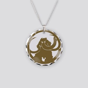 mammoth_vintage copy Necklace Circle Charm