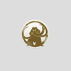 mammoth_vintage copy Mini Button