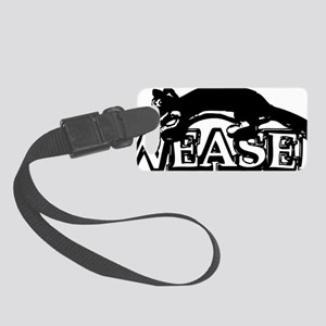 weasel copy Small Luggage Tag