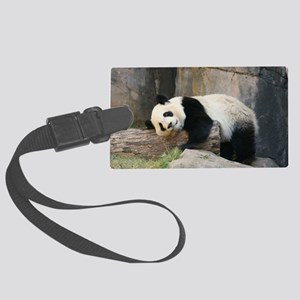 panda1 Large Luggage Tag