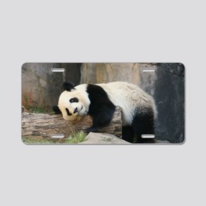 panda1 Aluminum License Plate