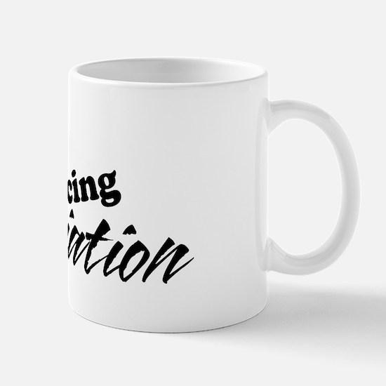 AmishDragRacingText-02 Mug