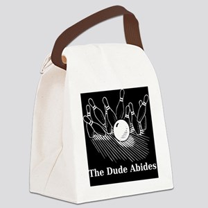 Bowling1 Canvas Lunch Bag