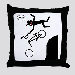 bmx-29 Throw Pillow