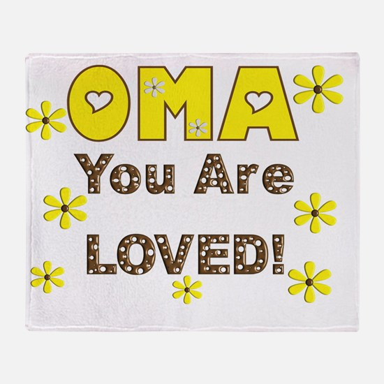 Oma Throw Blanket