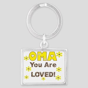 Oma Landscape Keychain