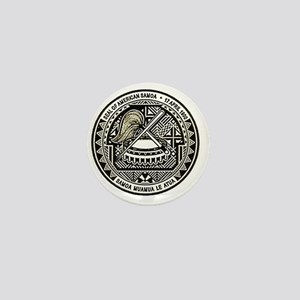American Samoa Seal Mini Button