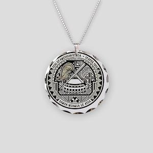 American Samoa Seal Necklace Circle Charm