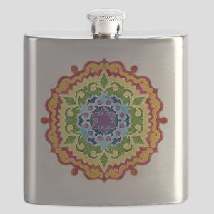mandalaSolarPlexusShirt2 Flask