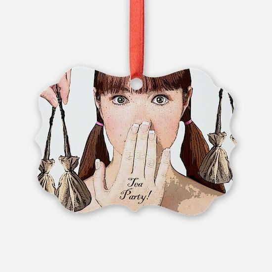 teapartyminiposter Ornament