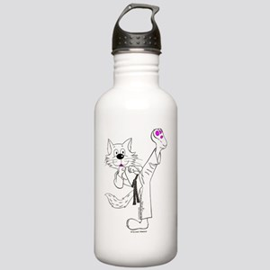 Karate in Color Stainless Water Bottle 1.0L