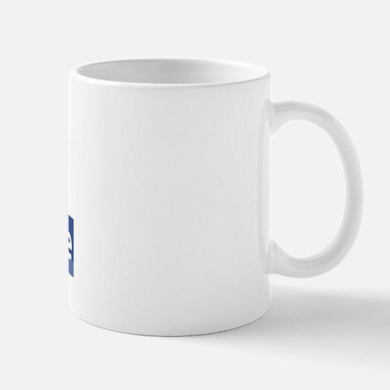 Never Judge (dark) Mug