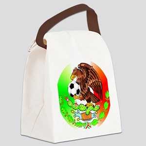 MEXICO SOCCER EAGLE Canvas Lunch Bag