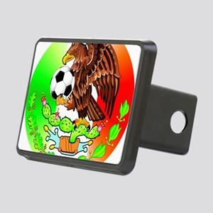 MEXICO SOCCER EAGLE Rectangular Hitch Cover