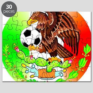 MEXICO SOCCER EAGLE Puzzle