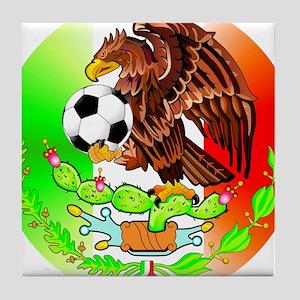 MEXICO SOCCER EAGLE Tile Coaster