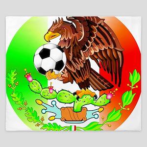 MEXICO SOCCER EAGLE King Duvet