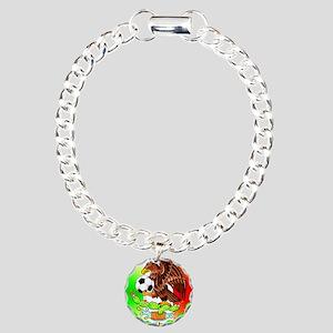 MEXICO SOCCER EAGLE Charm Bracelet, One Charm