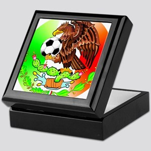 MEXICO SOCCER EAGLE Keepsake Box