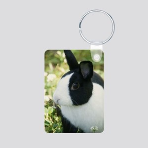 Simon Aluminum Photo Keychain