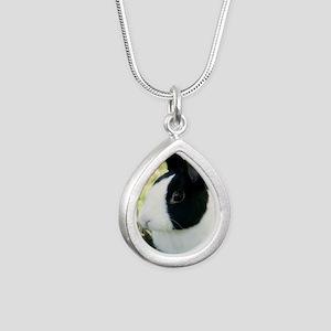 Simon Silver Teardrop Necklace