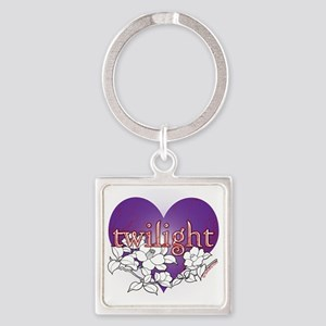 twilight violet 2 copy Square Keychain
