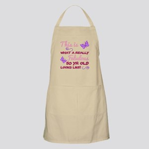 Fabulous 50th Birthday Light Apron