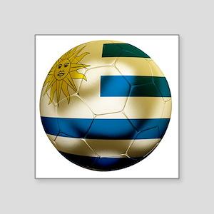 """Uruguay World Cup Square Sticker 3"""" x 3"""""""
