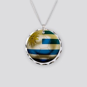 Uruguay World Cup Necklace Circle Charm