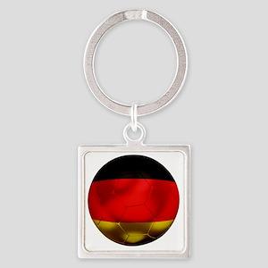 Germany Football1 Square Keychain