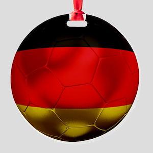 Germany Football1 Round Ornament