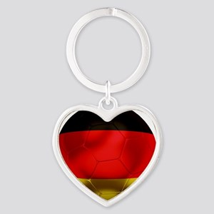 Germany Football1 Heart Keychain