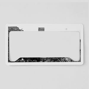 SP_P1010426bw License Plate Holder