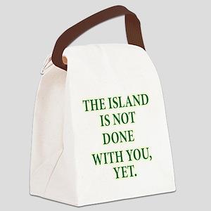 ISLANDNOTDONE Canvas Lunch Bag