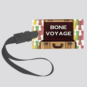 FIN-bone-voyage-3 Large Luggage Tag