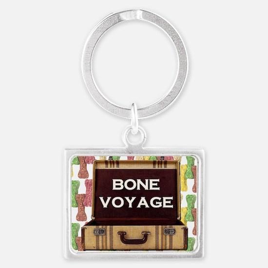 FIN-bone-voyage-3 Landscape Keychain