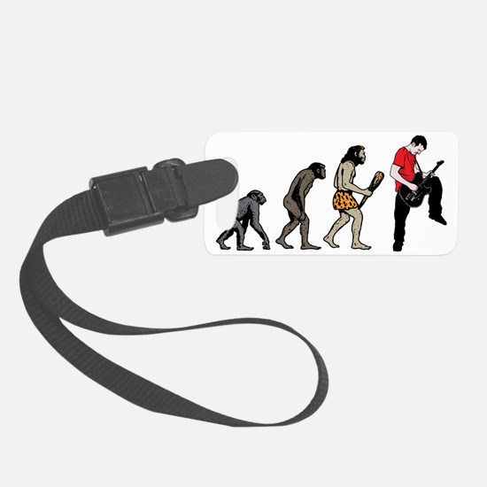 Guitar Player Luggage Tag