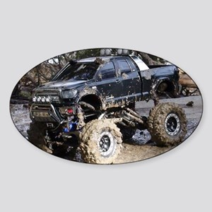 RC ADVENTURES Monster Mud Tundra Sticker (Oval)