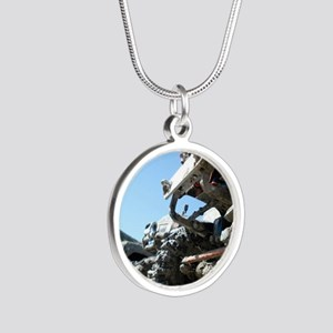 RC ADVENTURES Scale Trucks Silver Round Necklace
