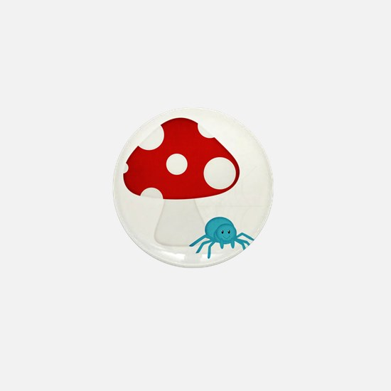 Itsy Bitsy Spider Mini Button