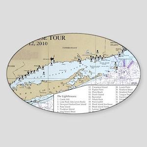 CN-RI Map Sticker (Oval)