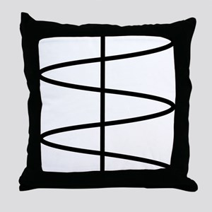 sine Throw Pillow