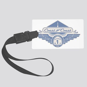 PCH-rode-road-blu-T Large Luggage Tag
